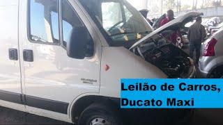 Leilão de CARROS, Ducato MaxiCargo Leilão de Banco