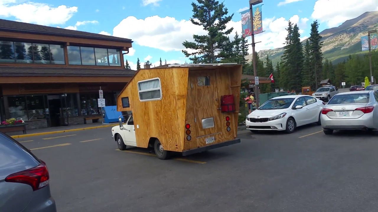 Homemade Plywood Camper