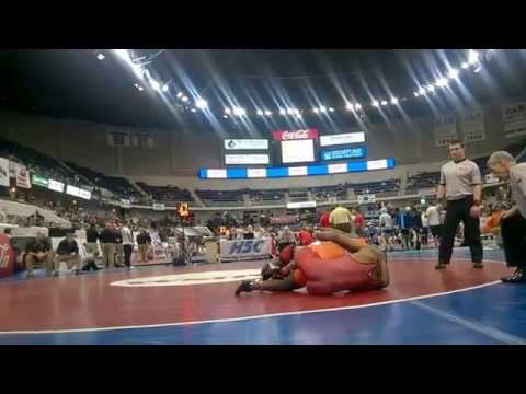 Ryan Johnson(Fultondale) vs. Weaver 170 lb.