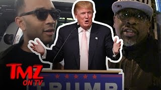 Hollywood Is Starting To Accept Donald Trump | TMZ TV