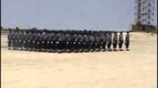 ondangwa police training center passout parade 2009 drill team.wmv