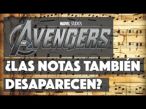 ANÁLISIS MUSICAL - Tema Avengers Infinity War ¿Las notas también desaparecen?