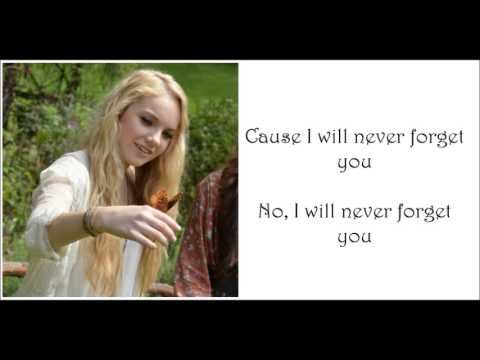 Danielle Bradbery I Will Never Forget You Lyrics Youtube