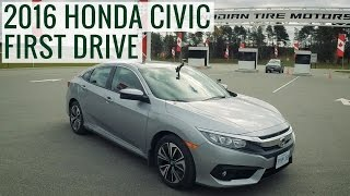 2016 Honda Civic First Test Drive