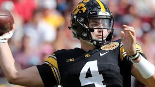 #15: Iowa QB Nate Stanley | Top 30 Returning B1G Football Players of 2019