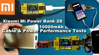 Xiaomi Mi Power bank 2S 10000mAh - Unboxing, Power Ports Test