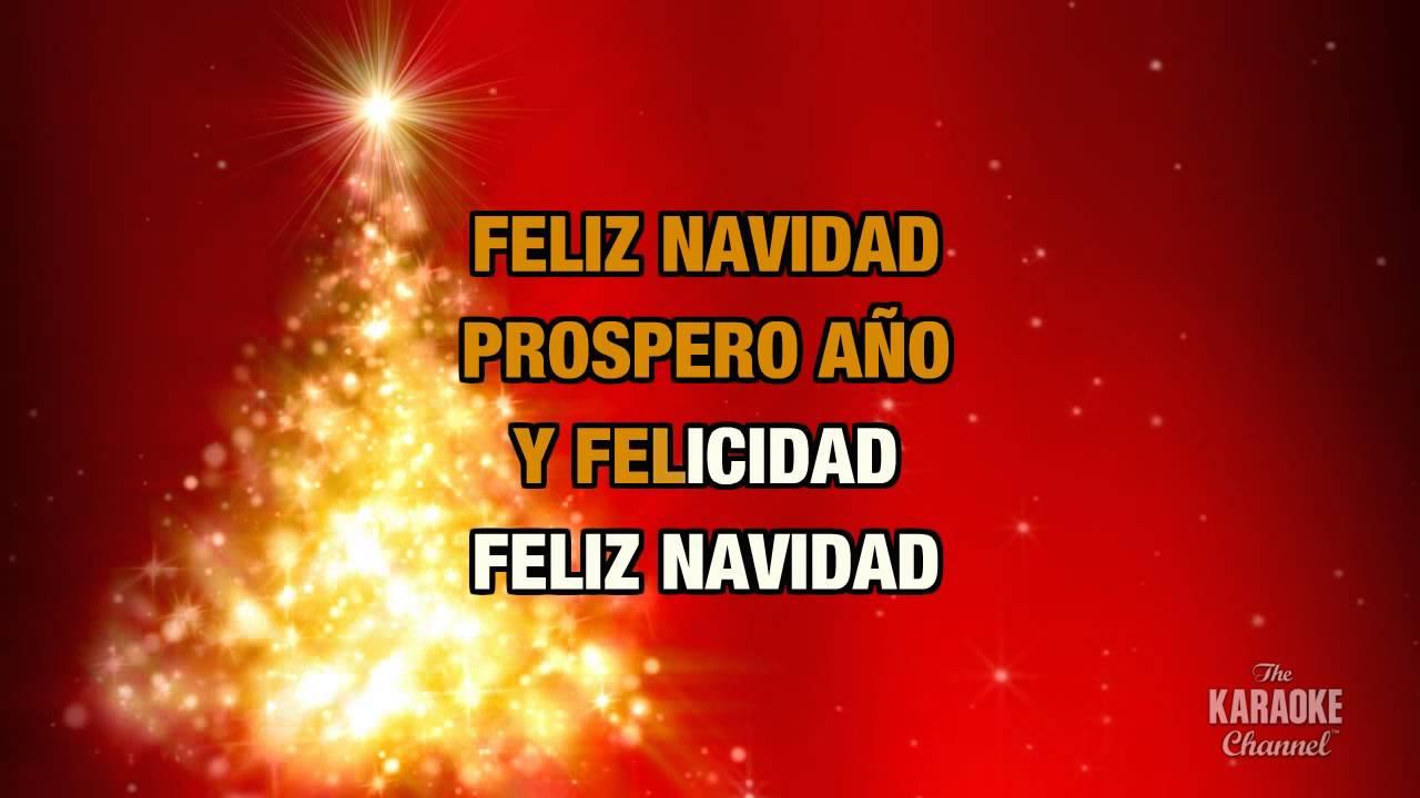 Christmas Carols > Feliz Navidad - Free karaoke Download