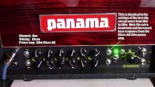 Cranked! The Shaman 20w tube head by Panama Guitars