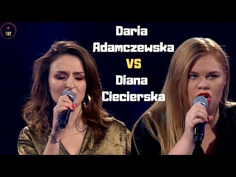 Daria Adamczewska i Diana Ciecierska Black Velvet Bitwy   The Voice of Poland 9 | Top Best Talent