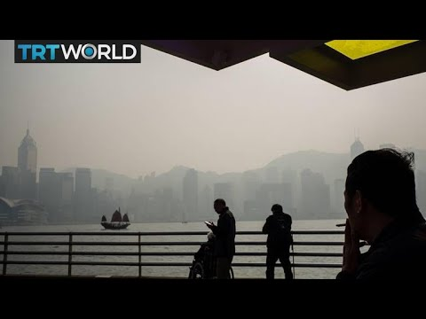 China Pollution: Fears grow as Hong Kong engulfed in smug