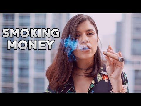 MONEY INCOME And PROFIT Smoking Money Why You Need To BLOW Some Of Your MONEY To Save Your MONEY