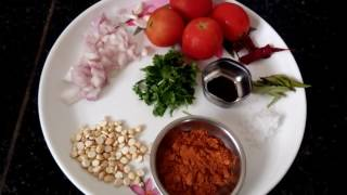 tomato saru method 2/quick and easy Tomato samber/samber recipe in kannada/samber with out dall thumbnail