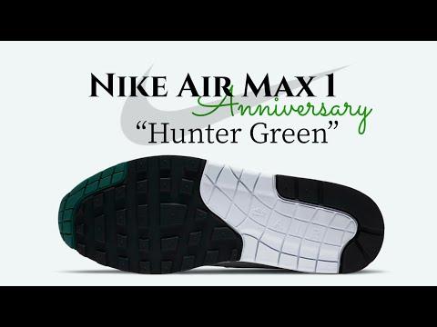 air max 1 anniversary hunter green