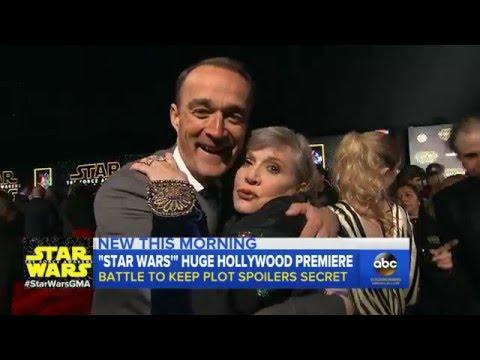 'Star Wars: The Force Awakens' Premiere: Cast Interviews