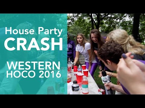 Crashing House Parties: Western HOCO 2016