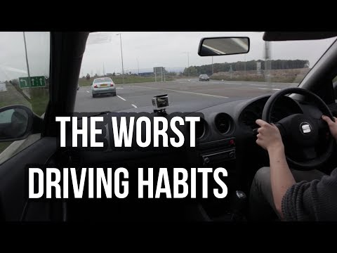 BAD Drivers! The Worst Driving Habits