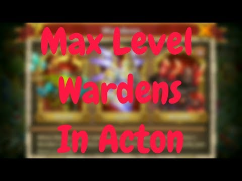 Max Level Wardens In Action L Castle Clash