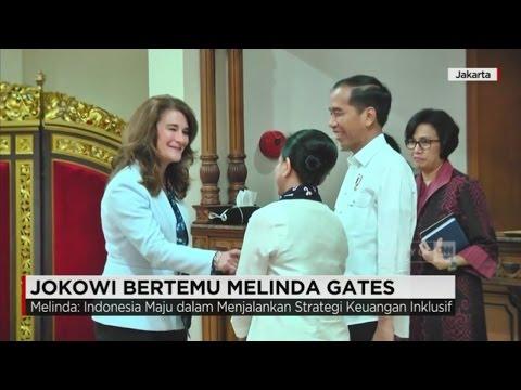 Presiden Jokowi Bertemu Istri Bill Gates