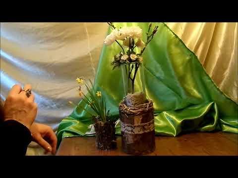 DIY: Wundervolle DEKO aus Brenn – Holz SELBER MACHEN, How to für 1€
