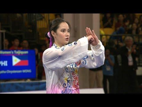 Agatha Wong Wins GOLD In Wushu Taijiquan Event   2019 SEA Games