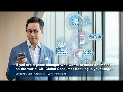 Game Changers Wanted – Apply to join Citi's Global Consumer Banking Summer Analyst Program today!