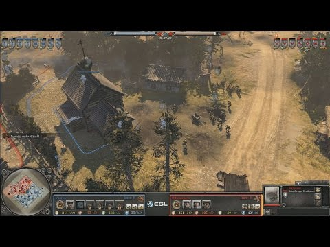 Craziest Coh2 Strategy Ever: Vonivan(Soviets) vs Luvnest(Wehr)