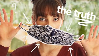 are DIY face masks actually safe & other COVID-19 q's answered!