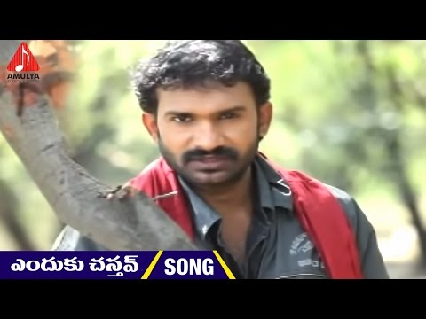 Enduku Chastav|mittapalli surendhar| Telangana Sentiment Songs | Amulya Audios and Videos