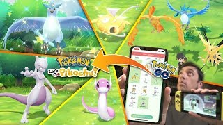WHAT HAPPENS WHEN YOU TRANSFER SHINY + LEGENDARY POKÉMON FROM POKÉMON GO TO POKÉMON LET'S GO?
