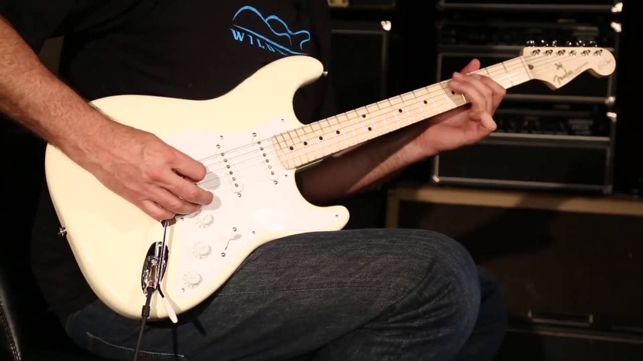 fender artist series eric clapton signature stratocaster