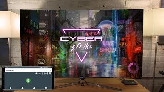 Cyber Strike - Infinite Runner on Shield Android TV