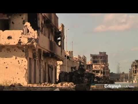 Libya: National Transitional Council tanks bombard Gaddafi