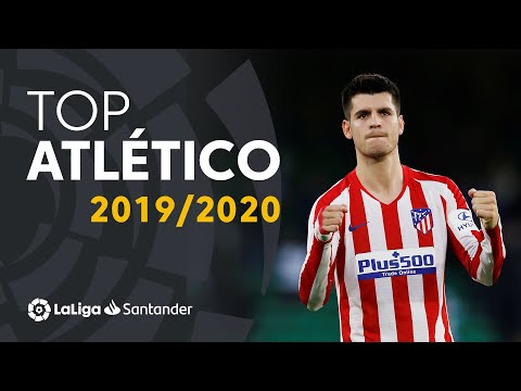 TOP 10 GOLES Atlético de Madrid LaLiga Santander 2019/2020