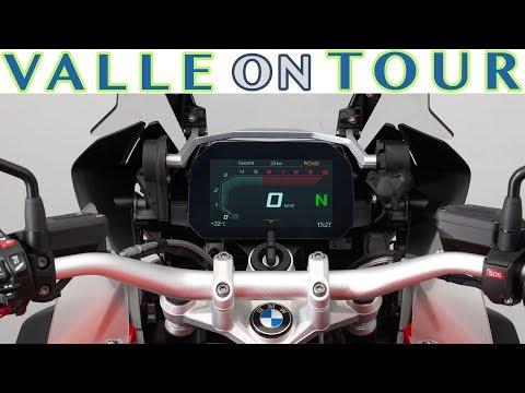 BMW MOTORRAD CONNECTIVITY 2018 TFT-DISPLAY DIGITAL NAVIGATION MULTI-CONTROLLER