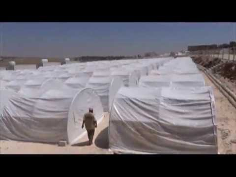 A camp for Widows and Orphans in Syria