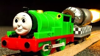 Percy's Rocket Speed King Of The Railway Toy Story Thomas Tank Castle Quest Review