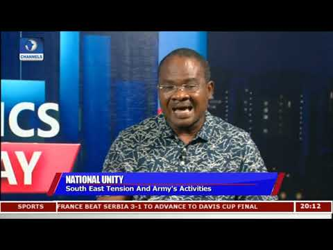 South East Tension And Army's Activities |Politics Today|