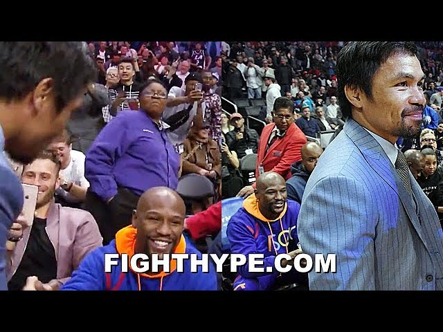wow-mayweather-pacquiao-meet-again-grin-shake-hands-at-basketball-game-rematch-next