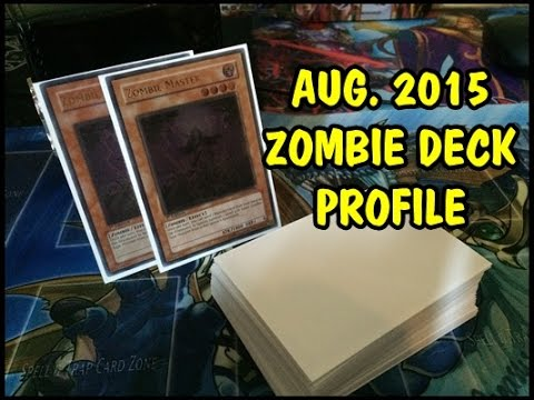 Yu gi oh zombie deck profile august 2015 updated youtube for Zombie balcony