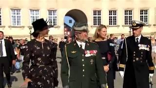 Flagdag 2018   Kongelig ankomst