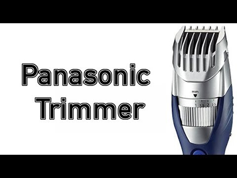panasonic milano all in one trimmer er gb40 s for beard and mustache cordless youtube. Black Bedroom Furniture Sets. Home Design Ideas