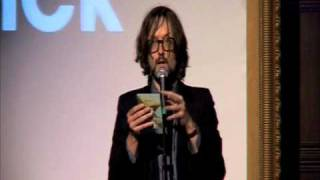The MOJO Maverick Award presented to Hawkwind by Jarvis Cocker