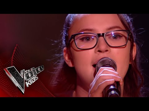 Alice Performs 'Perfect': The Semi Final | The Voice Kids UK 2018