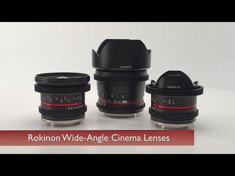 Rokinon Wide Angle Cinema Lenses