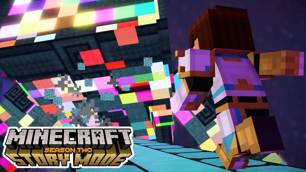 Final Battle Against The Admin Minecraft Story Mode Season 2