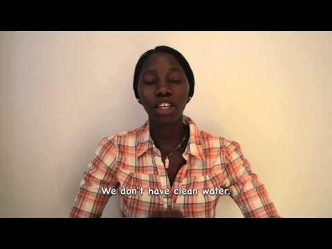 Water Project Sierra Leone - Margaret Johnson