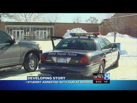 Student with gun arrested at Union High School