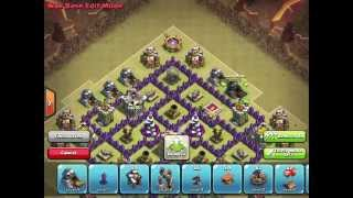 "Clash Of Clans | ""Arrowhead"" War Base/Trophy Base 