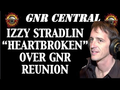 Guns N' Roses News  Izzy Stradlin Is Heartbroken Over Reunion According to Adler!