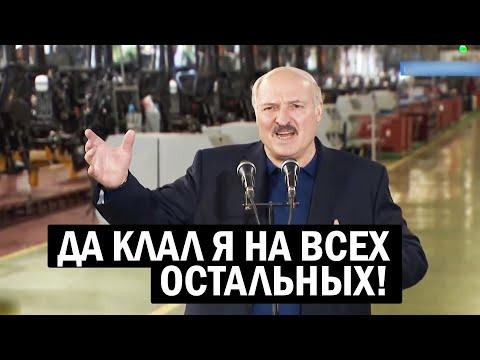 Лукашенко: их завить ДАВИТ - вот пусть себе молчат в тряпочку - новости, политика